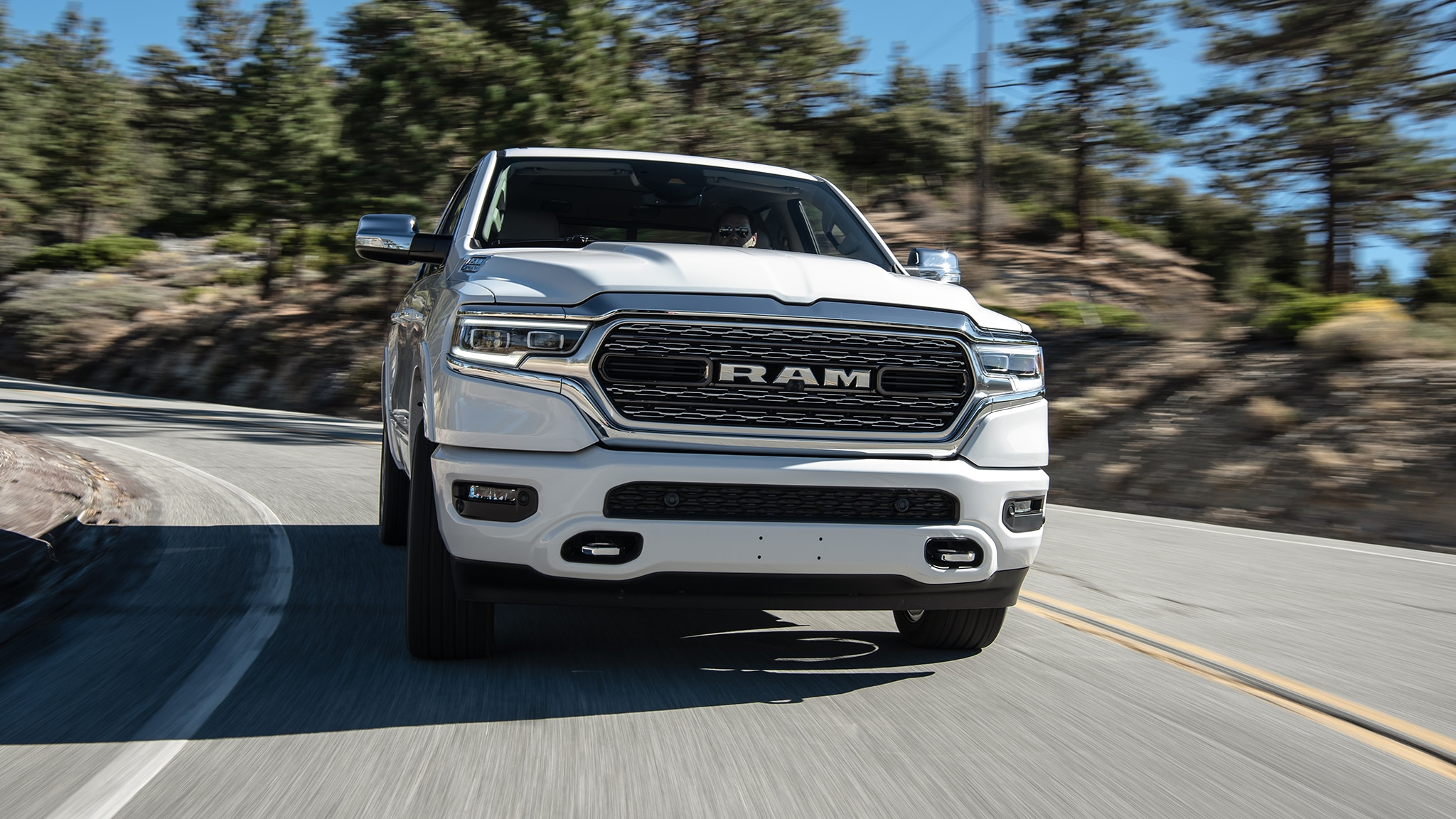 2019 RAM 1500 Limited 4x4 Front In Motion