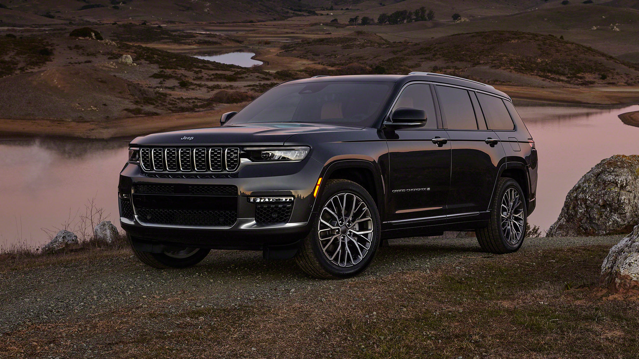 2021 jeep grand cherokee l first look: new architecture