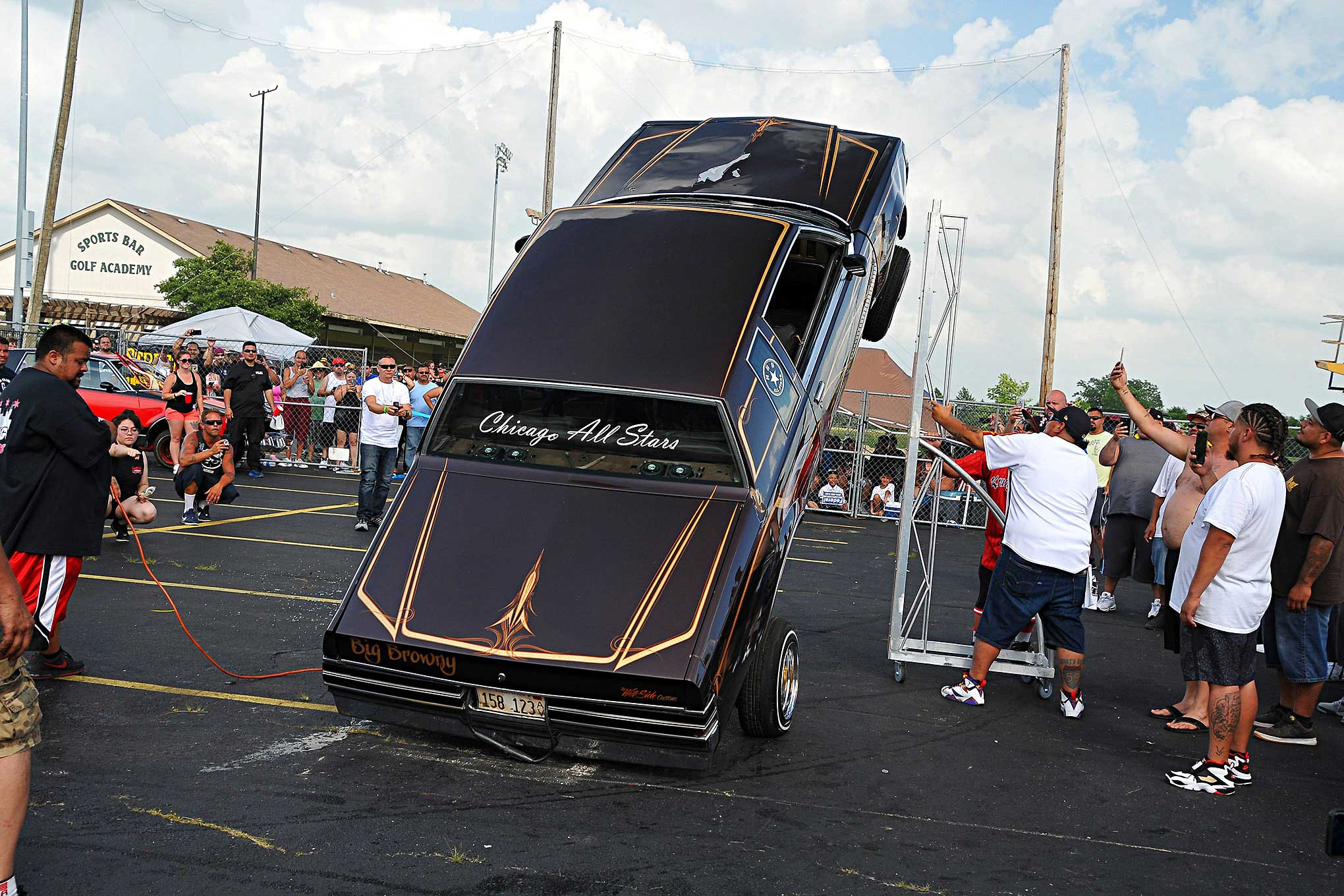 Independent CC 9th Annual Car Bike Show Chicago All Stars Regal